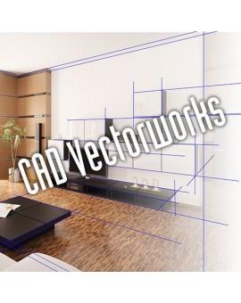 CAD Vectorworks - Grundkurs 2D/3D
