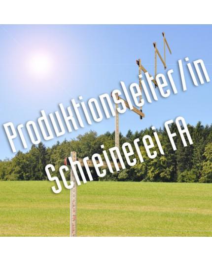 Produktionsleiter/in Schreinerei FA