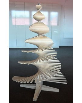 Kreative Weihnachten - spiralförmiger Aufbau (Typ 19)