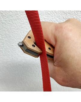 Klapp-Messer multifunktional - Gurtenkapper